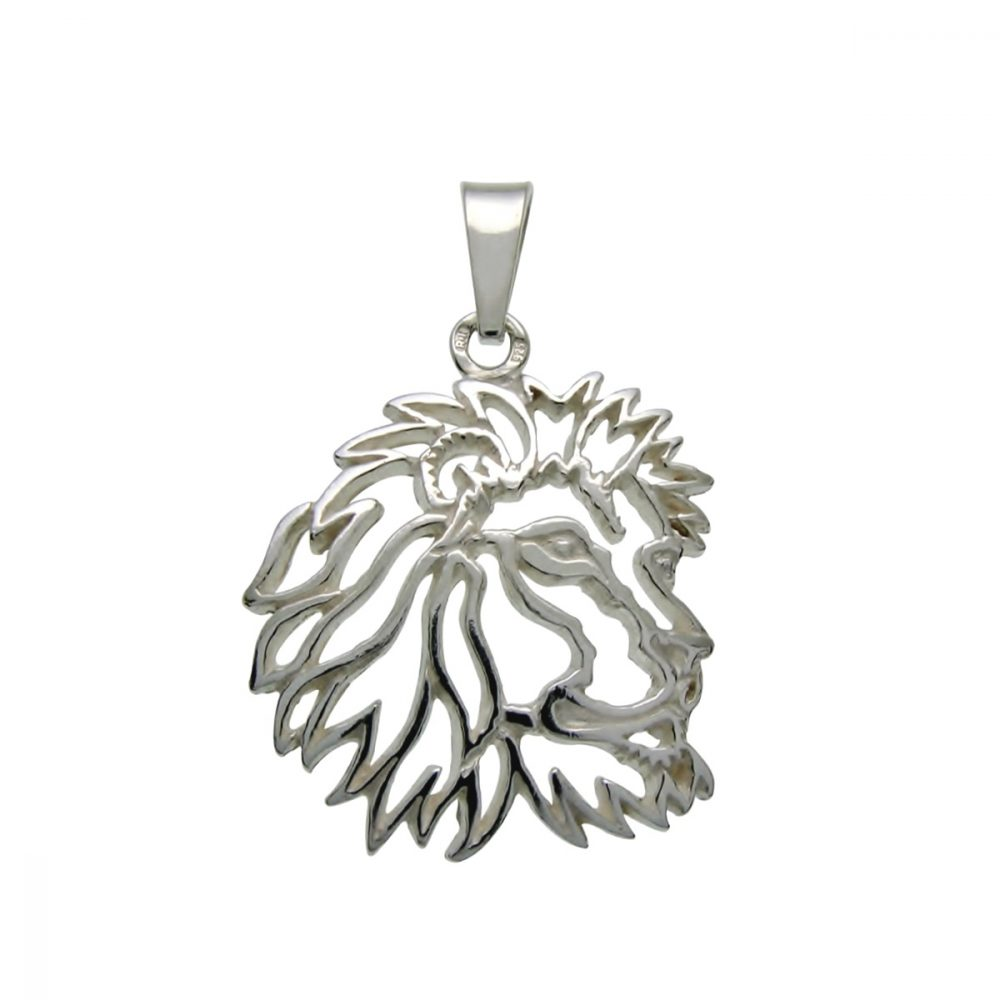 Lion – silver sterling pendant - 1