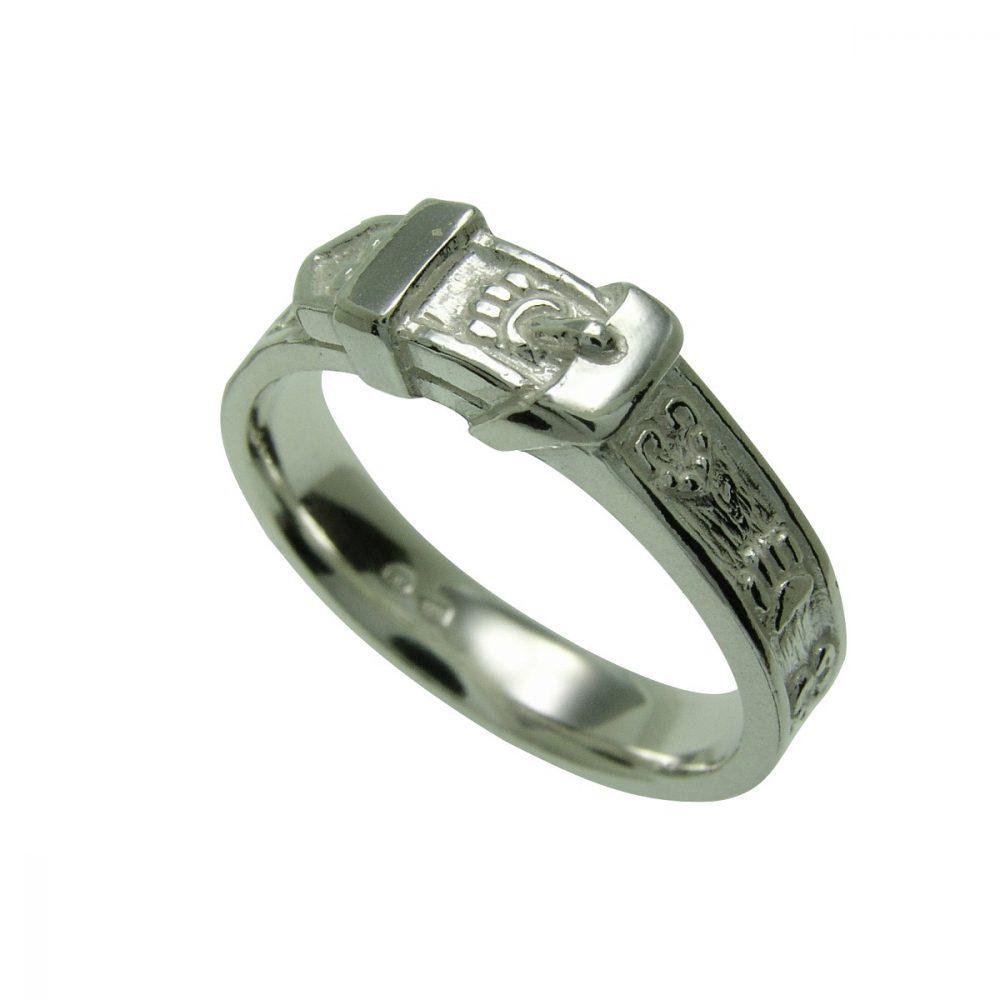 Obojek s tlapkou – stříbrný prsten 925/1000 - 1