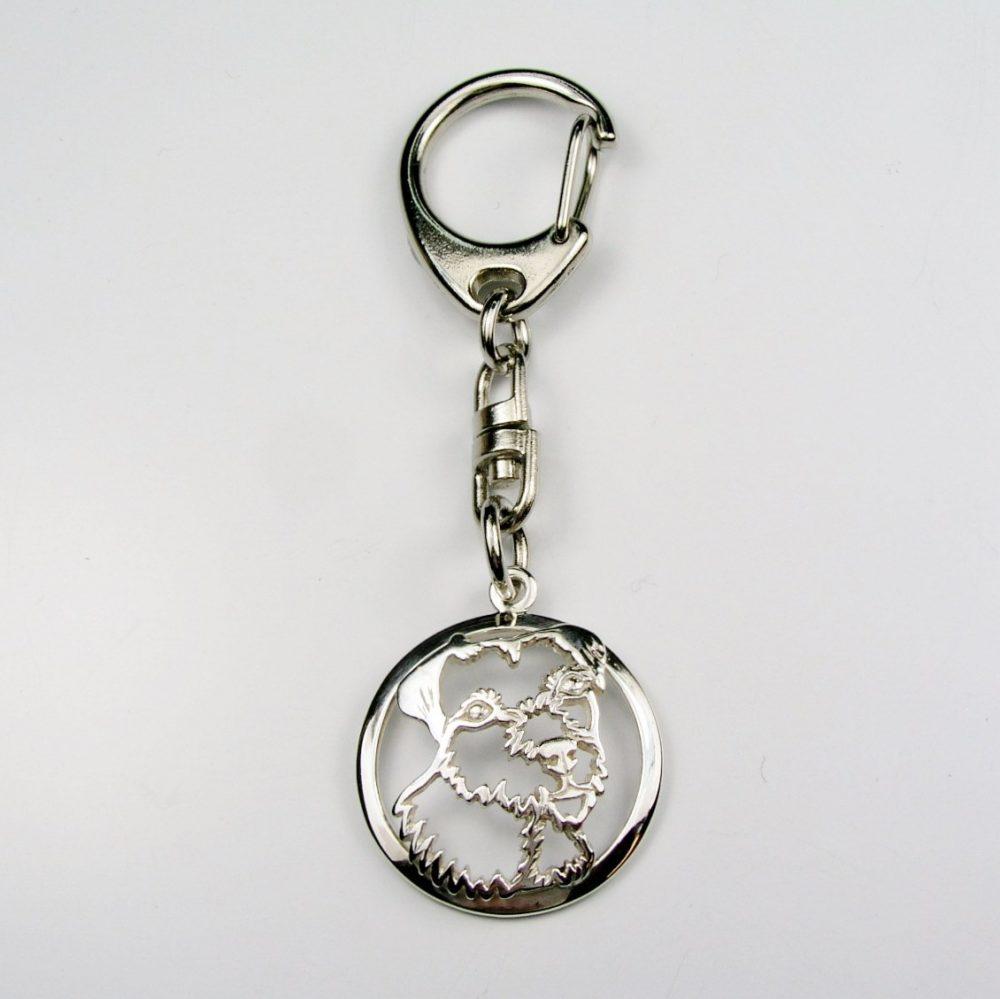 Parson Russel teriér – klíčenka (kroužek) - 1