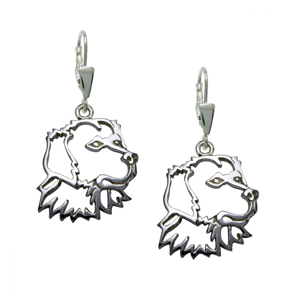 Retriever – silver sterling earrings - 1