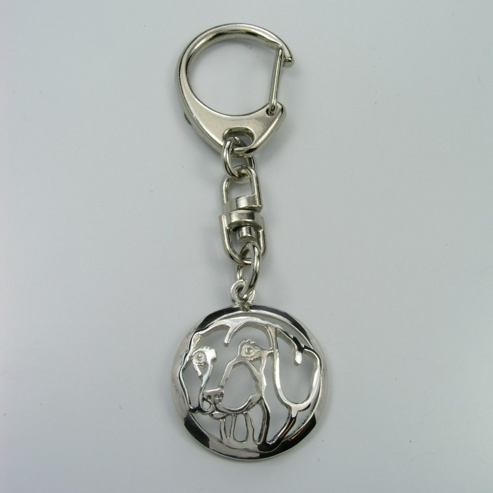 Jezevčík hladkosrstý – klíčenka (kroužek) - 1