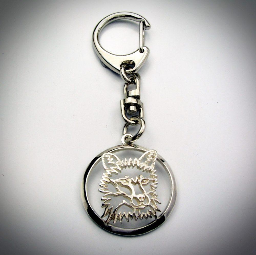 Liška – klíčenka (kroužek) - 1
