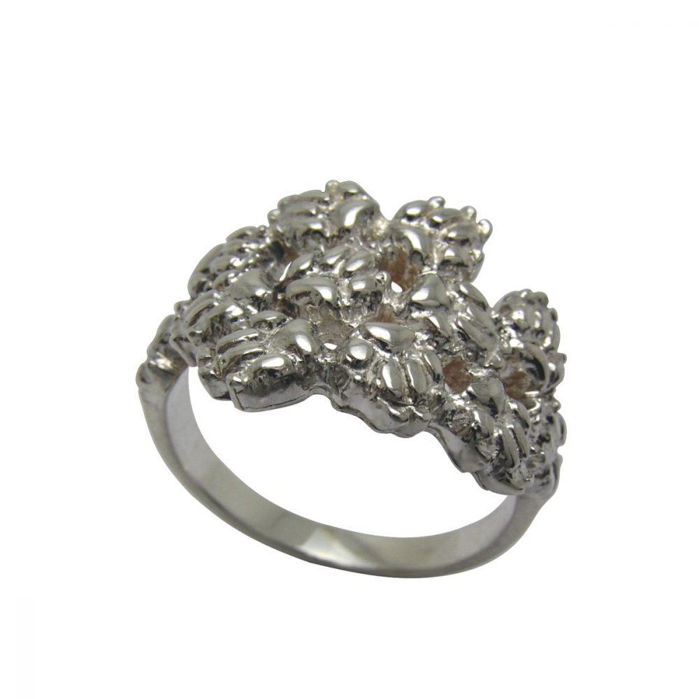 12 tlapek – stříbrný prsten 925/1000 - 1